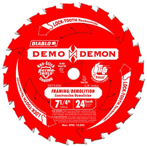 10 Pack Freud D0724DA Diablo Demo Demon 7-1/4