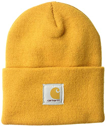 - Carhartt Men's Acrylic Watch Hat A18, Gold, One Size
