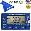 MaximalPower 5-in-1 Battery Meter, Intelligent Cell Meter Digital Battery Checker Battery Balancer for LiPo / LiFePO4 / Li-ion / NiCd / NiMH Battery Packs with Free Mircofiber Cloth