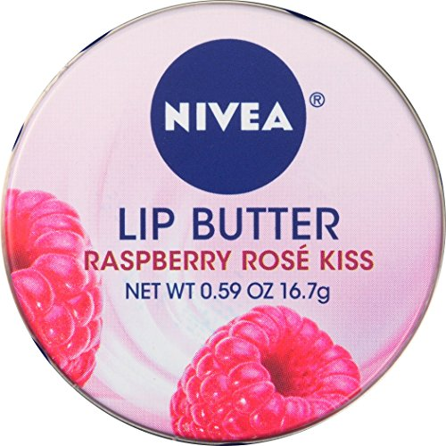 - NIVEA Lip Butter Loose Tin, Raspberry Rose Kiss, 0.59 Ounce