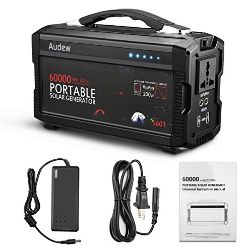 Audew High Capacity Portable Battery Power Station