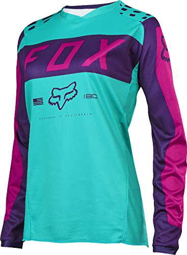 2017 Fox Racing Youth Girls 180 Jersey-Purple/Pink-YM (Fox Racing Girls Clothing compare prices)