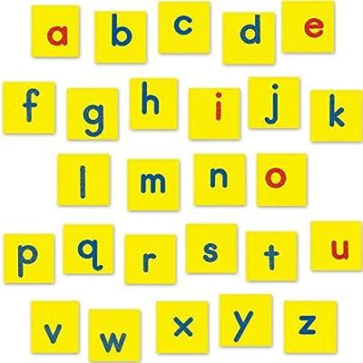 EZread Magnetic Foam Lowercase Letter Tiles: Computers & Accessories