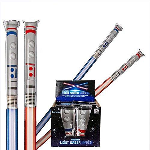 Eurowebb Espada Hinchable de plástico - Sable Láser Artículo de ...
