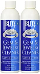 Blitz Gem & Jewelry Cleaner Concentrate (8 Oz) - Pack Of Two