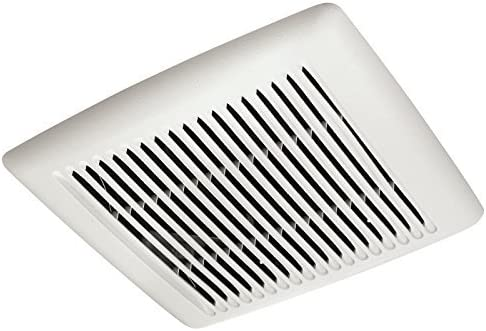 Broan AE110 Invent Energy Star Qualified Single-Speed Ventilation Fan, 110 CFM 1.0 Sones, White Renewed