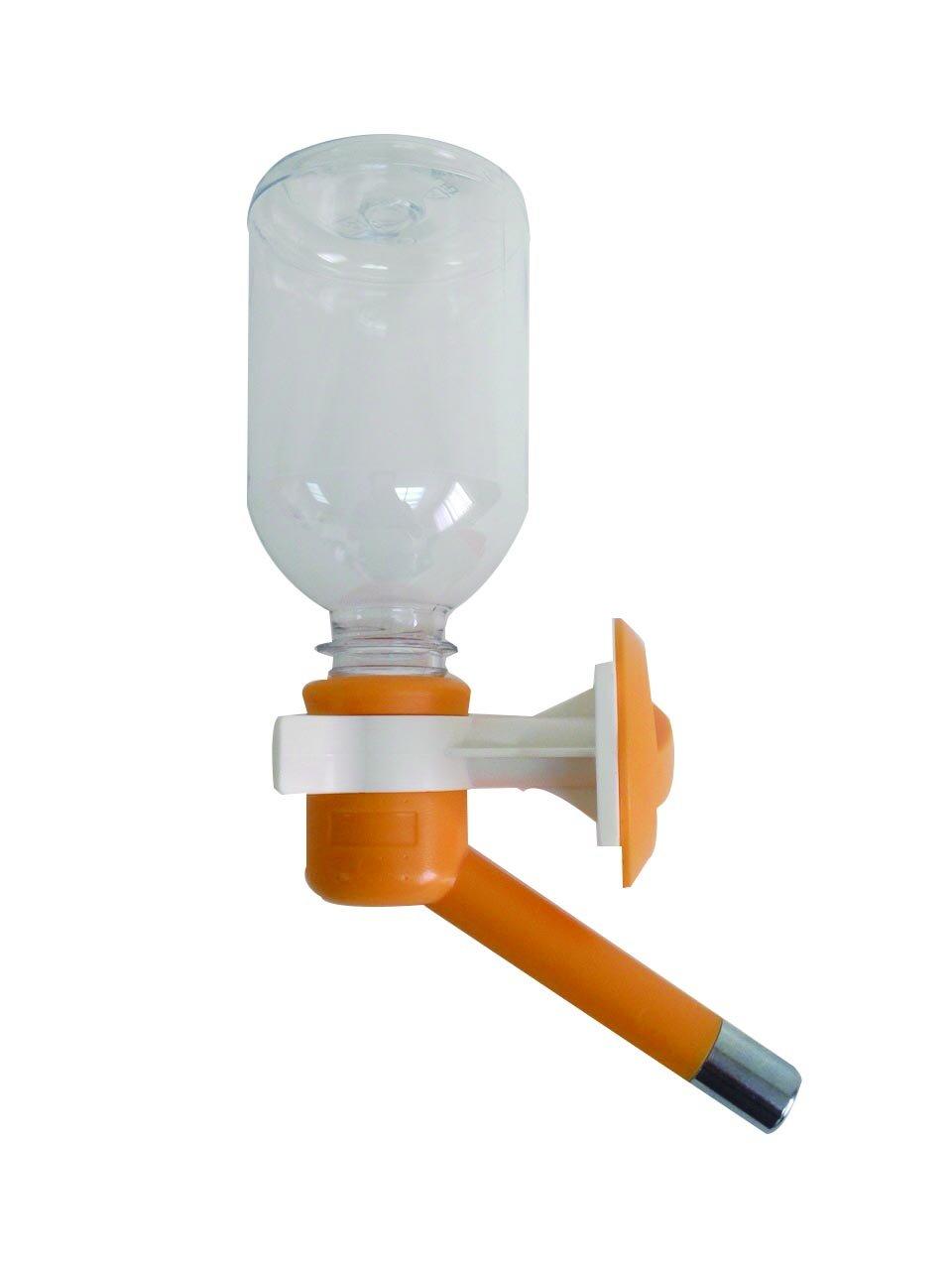 Choco Nose H590 Patented No Drip Small-Medium Sized Dog Water Bottle, Cat Water Feeder, Leak-Proof Pet Water Bottle, Mess-Free, 11.2 oz./330 mL, Nozzle Diameter, 16 mm, Orange