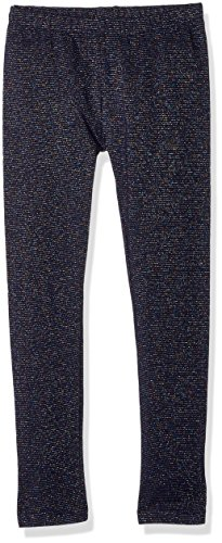 Gymboree Little Girls' Basic Sparkle Legging, Navy Sparkle, M by Gymboree