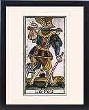 Framed Print Of Tarot Card Fool 17C