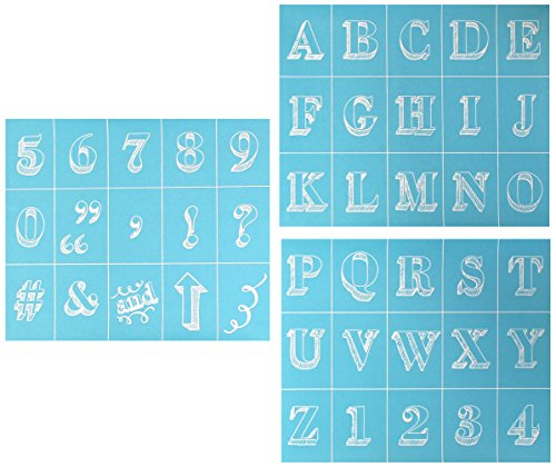 Plaid Martha Stewart Crafts Chalkboard Silkscreens (9 by ...