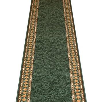 Teppichläufer Treppe teppich läufer cheops grün langer flur treppe maßangefertigt l