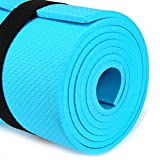 Chita Chakra - EVA 6mm Non-slip Yoga Mat Health Lose Weight Exercise Pad Blue Color offers