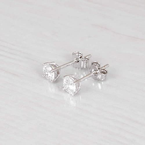 3 Sizes Available Premium Ocean Side Sterling Silver Earrings with Sterling Silver Ball
