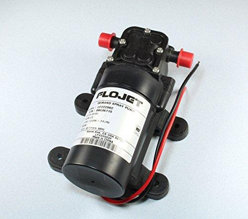 Flojet Demand Spray Pump, 24vdc 2Amps, 1gpm 3.8lpm, Model LF222002 ()