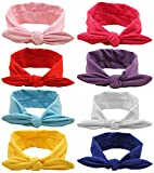 Qandsweet Baby Girl Elastic Hair Hoops Headbands