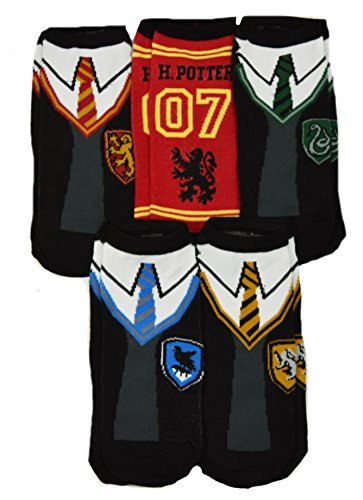 Harry Potter Hogwarts School Uniforms Quidditch Ankle Socks (Hogwarts School Uniform)