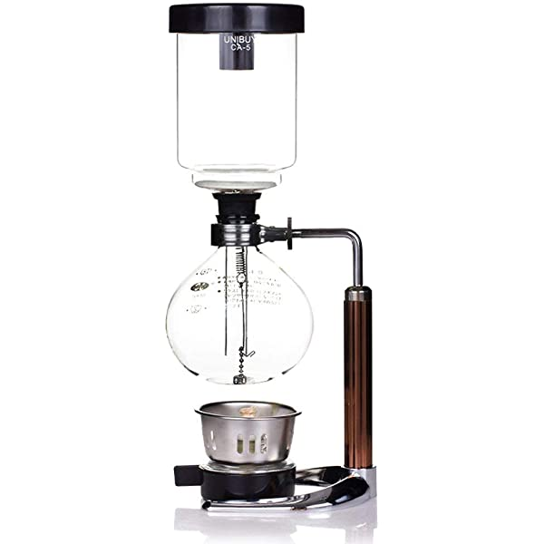 BSA US SHIP 5-Cup Coffee Syphon Tabletop Siphon Coffee Maker Tabletop Boeng