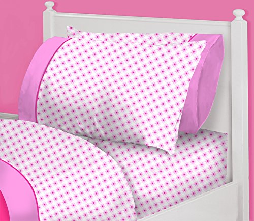 Heritage Kids Pink Flowers Sheet product image
