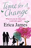 Time for a Change by Erica James front cover
