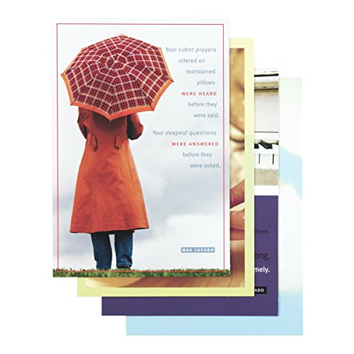 Max Lucado Boxed - DaySpring Encouragement Boxed Greeting Cards w Embossed Envelopes - Max Lucado, 12 Count