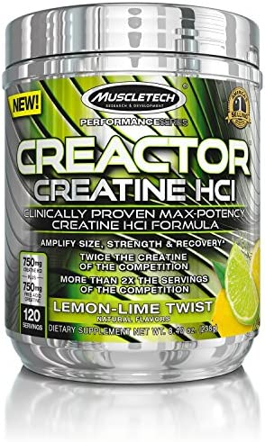 Muscletech Creactor Lemon Lime, 216 g