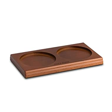 Cole & Mason Salt & Pepper Mill Tray, Brown Wood
