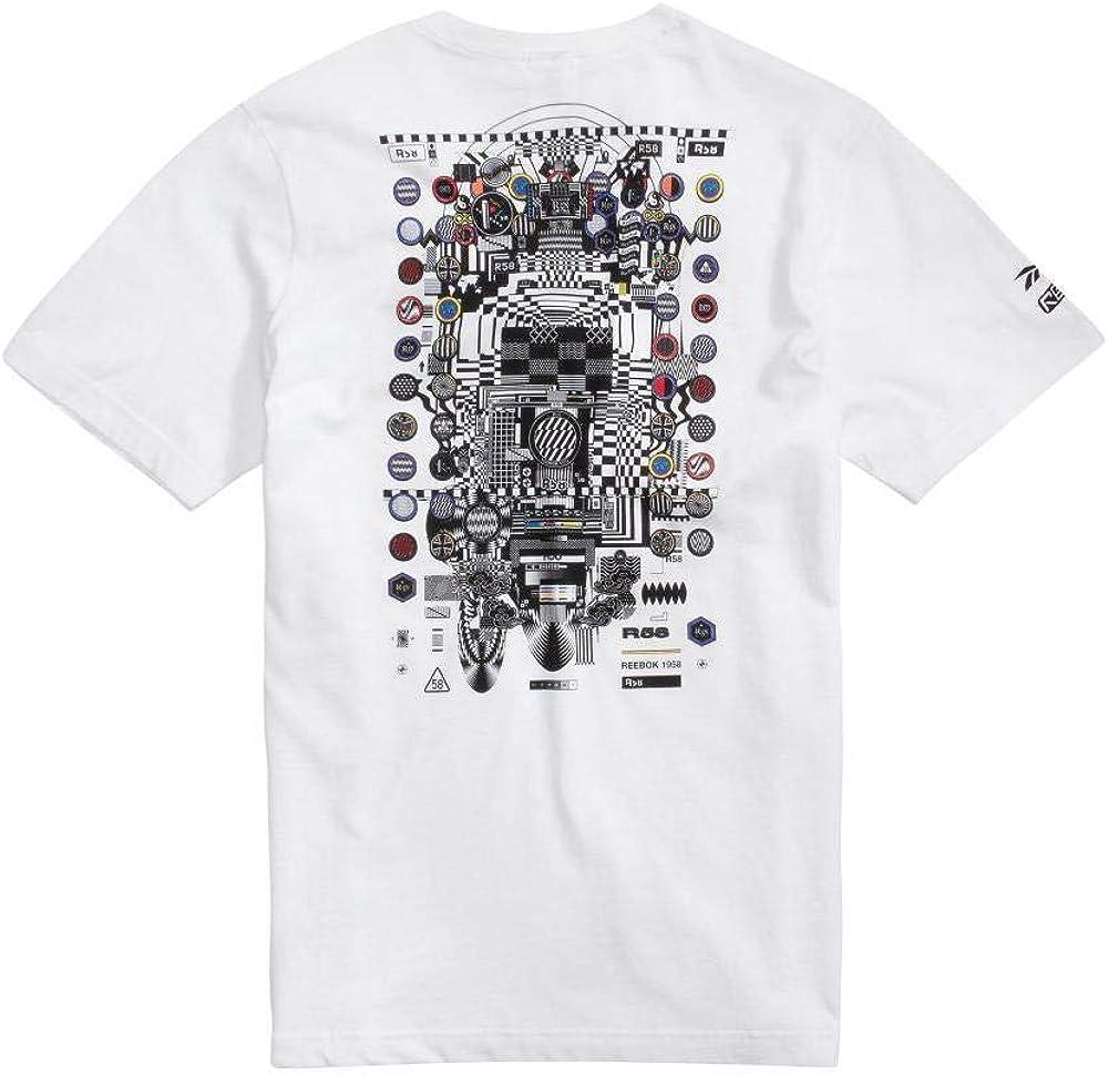 Reebok Camiseta R58 Kenzo Minami SS Crew Hombre: Amazon.es: Ropa y accesorios