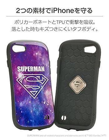 9cb77f1c45 Amazon | iFace First Class SUPERMAN iPhone8/7 ケース 耐衝撃/スーパーマン/コスモ | ケース・カバー  通販