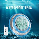 Roleadro Led Pool Light, Waterproof IP68 47W RGB