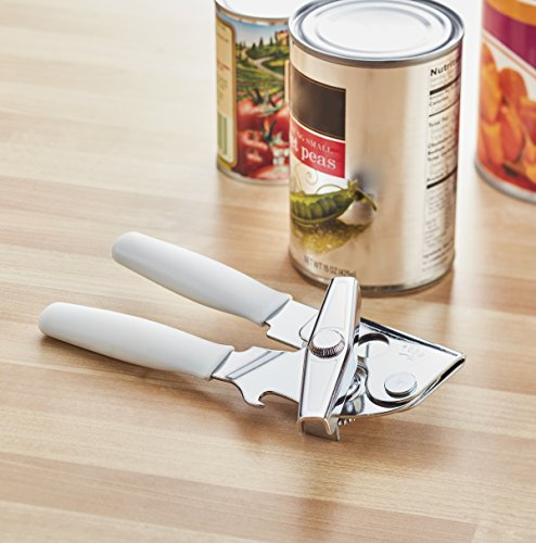 """Swing-A-Way Portable Can Opener, White, 7"""" -"""