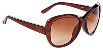 7e01763e9b019e Dice Damen Sonnenbrille, Brown, One Size: Amazon.de: Sport & Freizeit
