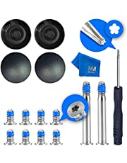 MMOBIEL 4 xRubber Case Feet pad Set with 10 x Bottom Base Screws (2 Long and 8 Short) and Philips Screwdriver Kit Set compatible with MacBook Air A1370 A1369 A1465 A1466 11 and 13 inch + Cleaning Cloth