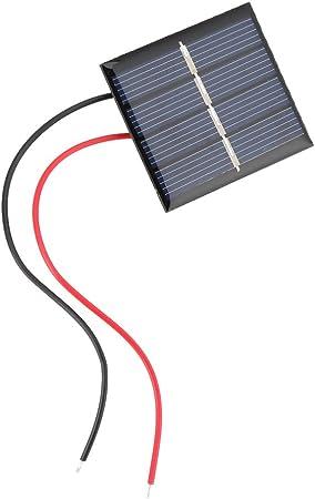 2 STÜCKE 0,28 W 2 V Mini-Solarpanel Polykristallines Silizium Kleine M8D1
