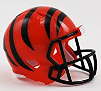 CINCINNATI BENGALS NFL Riddell Speed POCKET PRO MICRO / POCKET-SIZE / MINI Football Helmet