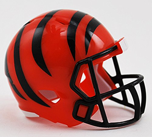 bengals mini football helmet - 9