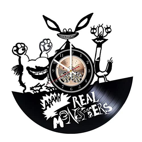 Amazon Com Aaah Real Monsters Unique Wall Clock For