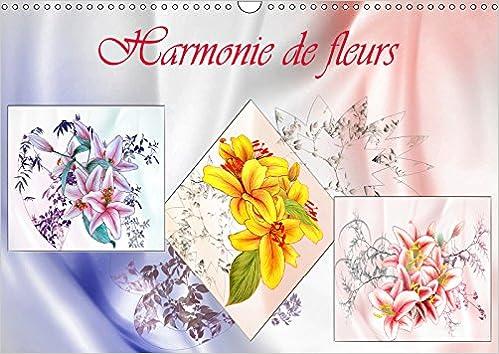 Harmonie De Fleurs 2019 Dessins Aux Crayons De Couleur
