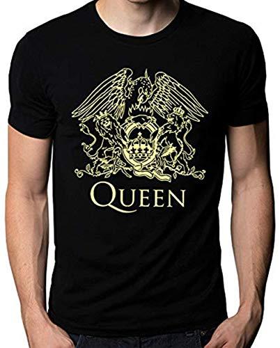 Logo Music Band - Queen Band Rock Music Logo Men's T-Shirt