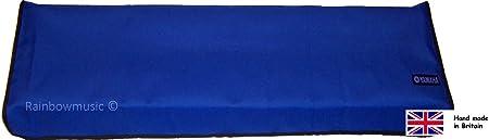 Funda de lujo para teclado Yamaha PSR S970 S770 S950 S750 azul brillante
