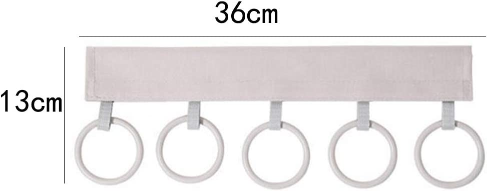 Weiy Foldable Scarf Holder,Shawl Hanger Belt Tie Display Hanger for Scarves Ties Wraps Shawls Storage Hanger Organizer,Black