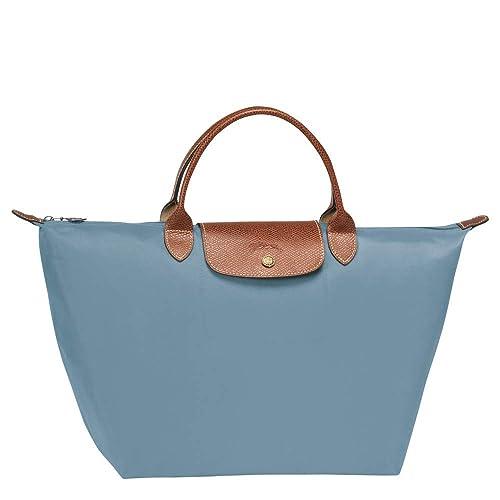 Amazon.com: Longchamp Le Pliage Artico - Bolso de piel para ...