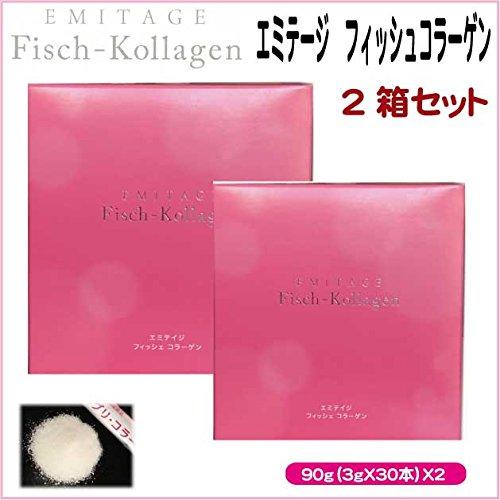 """【コラーゲン加工食品】 """"EMITAGE Fish-Killagen(エミテイジ フィッシュコラーゲン)"""" 90g(3gX30本) (6) B07DH1JXJ7 6"""