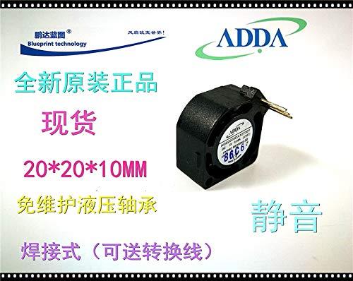 REFIT New ADDA 2010 2 cm AG02005DX107301 Hydraulic Bearing 5 v Micro Mute a Cooling Fan