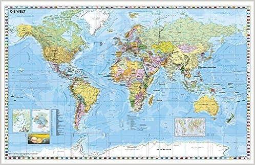 Uralgebirge Karte.Weltkarte Deutsch 1 Januar 2009 Amazon De Ba Cher