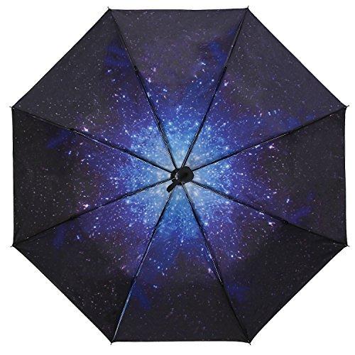 MangGou Rain Windproof Umbrellas,UV Protection Umbrella,Compact Travel Umbrella, Reinforced Golf Umbrella For Travel & Outdoor,Men Women and Kids,Slip-Proof Handle, Portable,Lightweight,Black