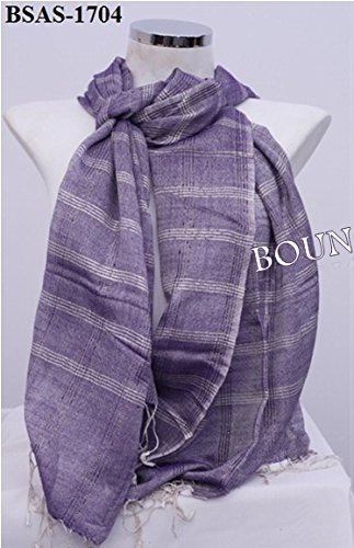 Boun Fashions Purple COLOUR stole  SCARF  Amazon.in  Clothing   Accessories c1729ab1f7379