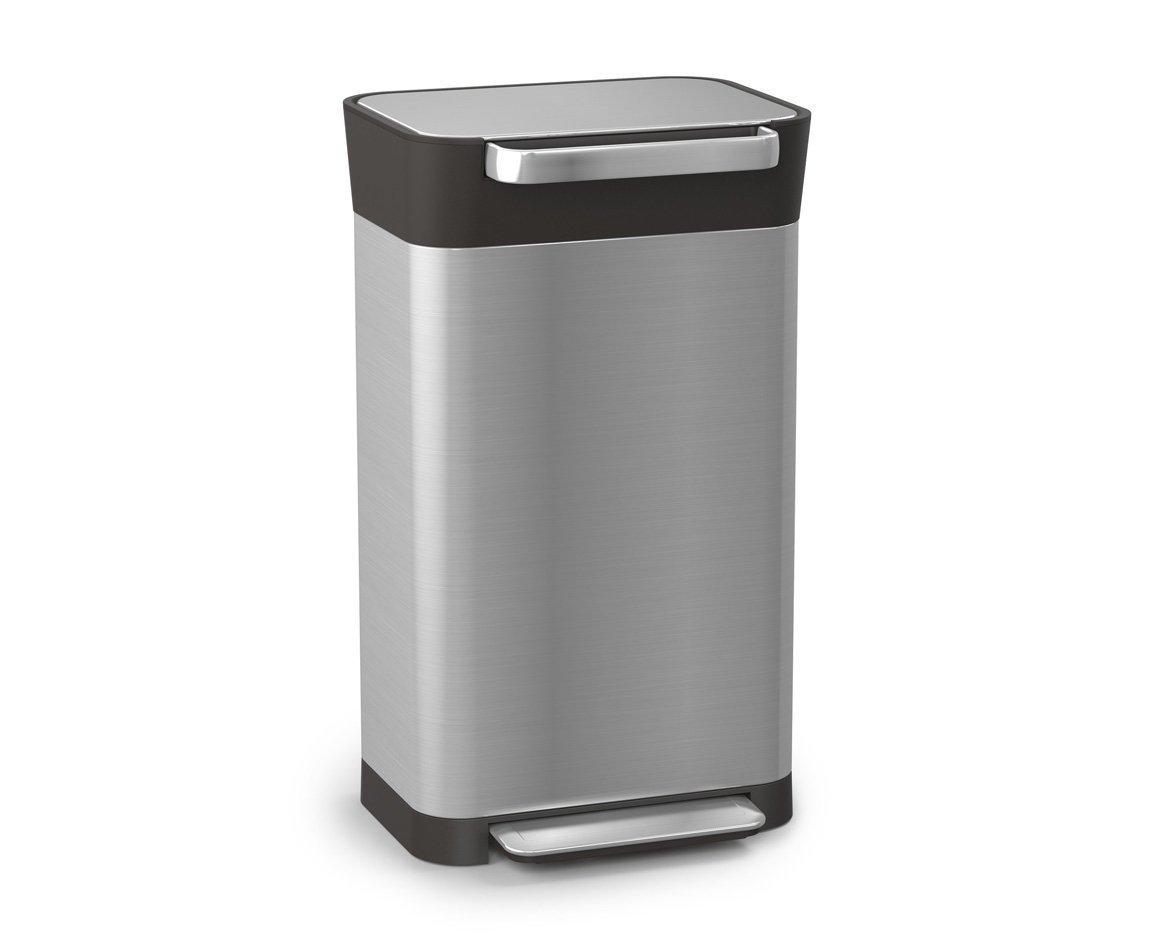 クラッシュボックス ダストボックス ジョセフジョセフ ごみ箱 ゴミを圧縮するゴミ箱 正規品 Joseph Jopseh B07BNZYVFP