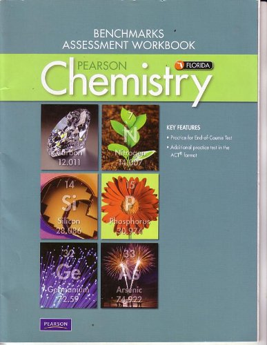 Pearson Chemistry for Florida Benchmarks Assessment Workbook