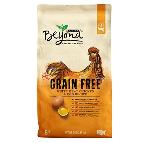 Bag Egg White (Purina Beyond Grain Free White Meat Chicken & Egg Recipe Adult Dry Cat Food - 5 lb. Bag)