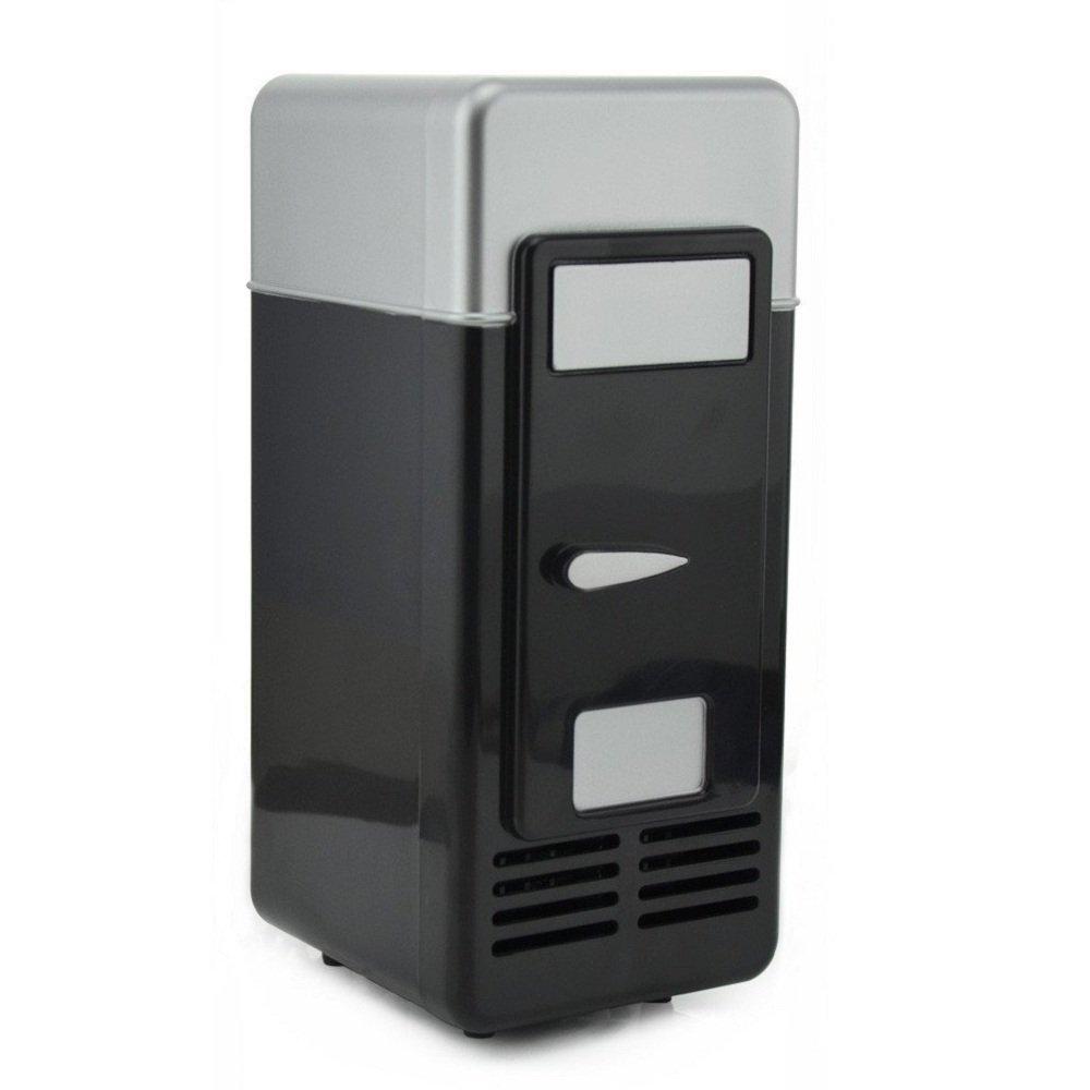 USB Fridge Mini Fridge Desk Fridge Beverage Drink Cans Warmer